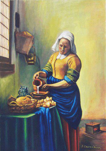 VERMEER - THE MILK MADE